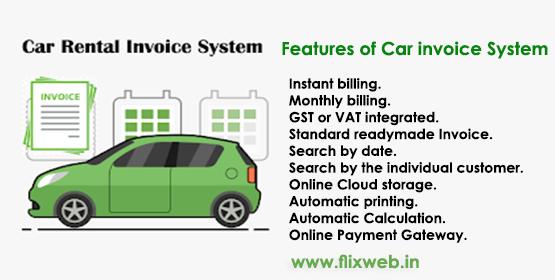 Car Invoice System - Flixweb