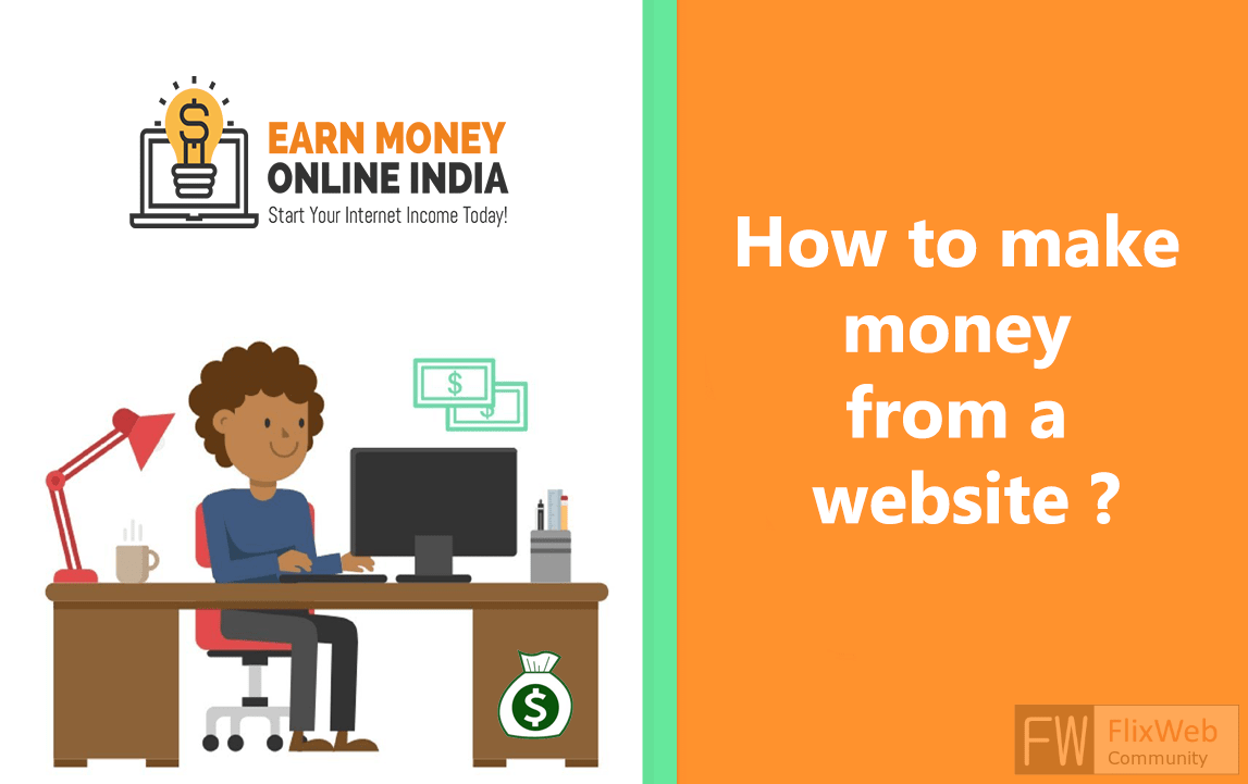 How to make money from a website ?