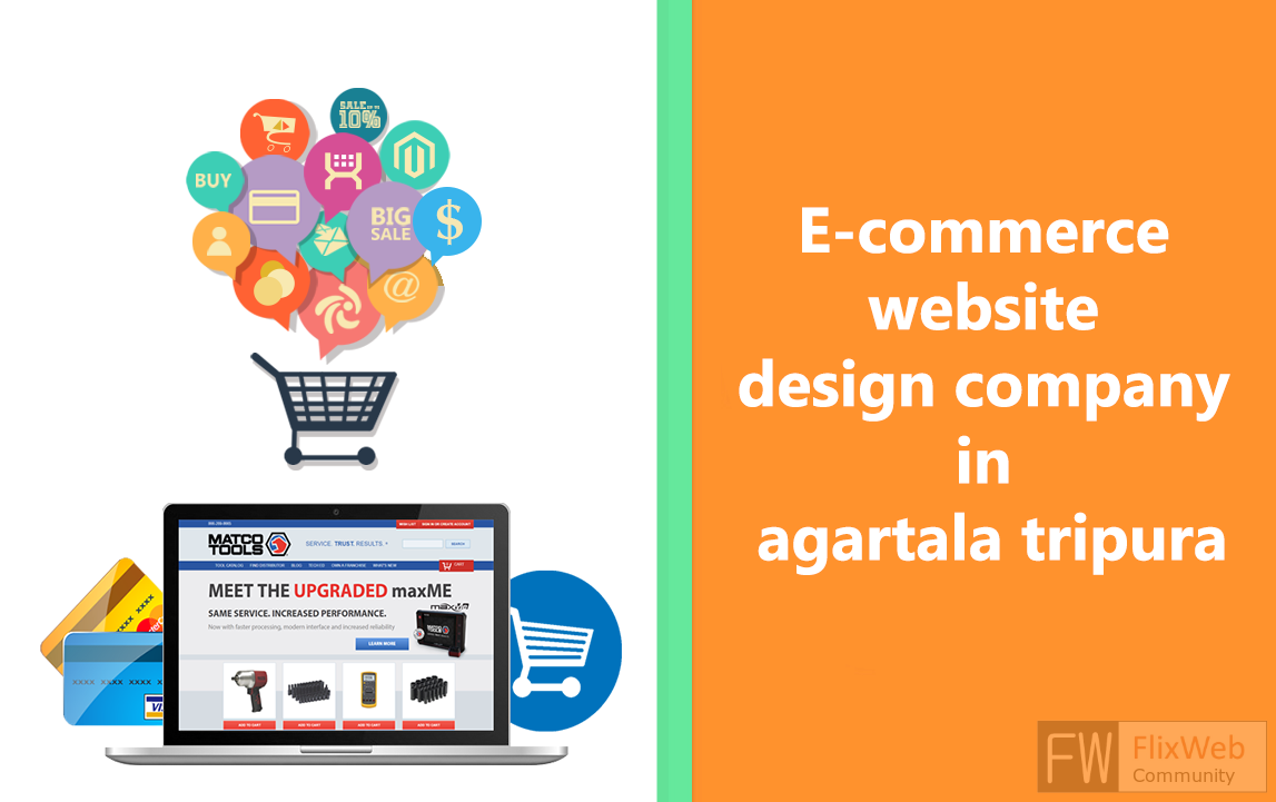 e-commerce website design company in agartala tripura